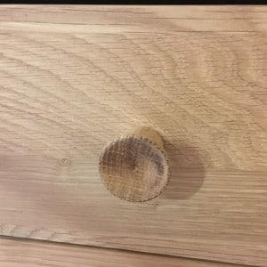 Concaved Oak Handle