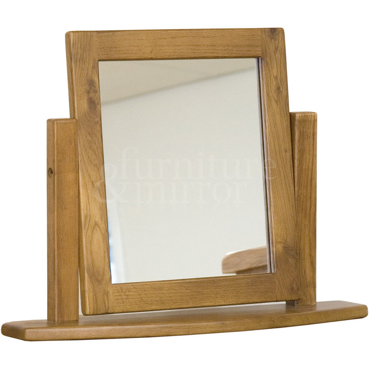 Rustic oak dressing table mirror furniture and mirror for Rustic mirror