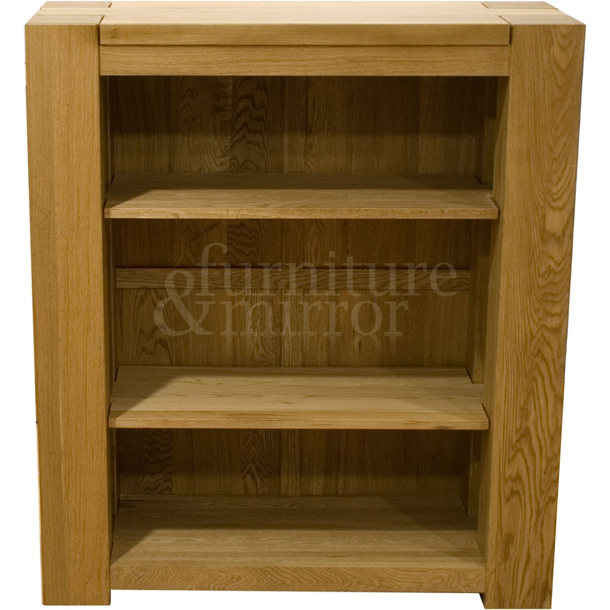 toulouse small three shelf bookcase furniture and mirror. Black Bedroom Furniture Sets. Home Design Ideas