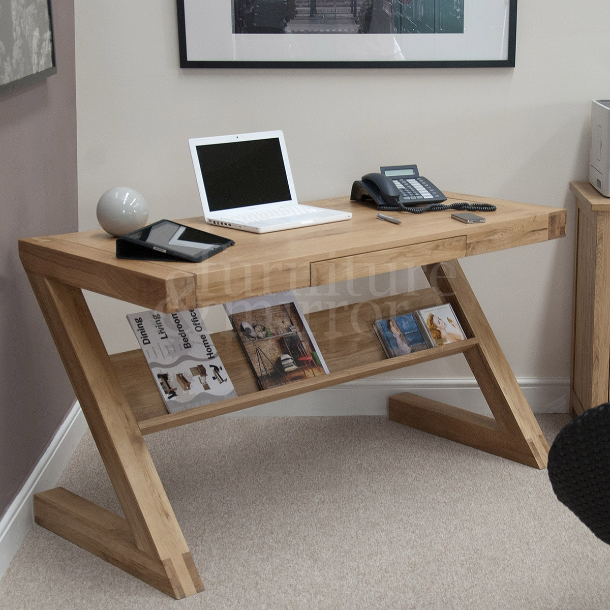 computer desktop furniture. Home/DeZigner/DeZigner Braced Computer Desk. ;  Desktop Furniture W