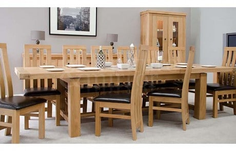 oak dining furniture