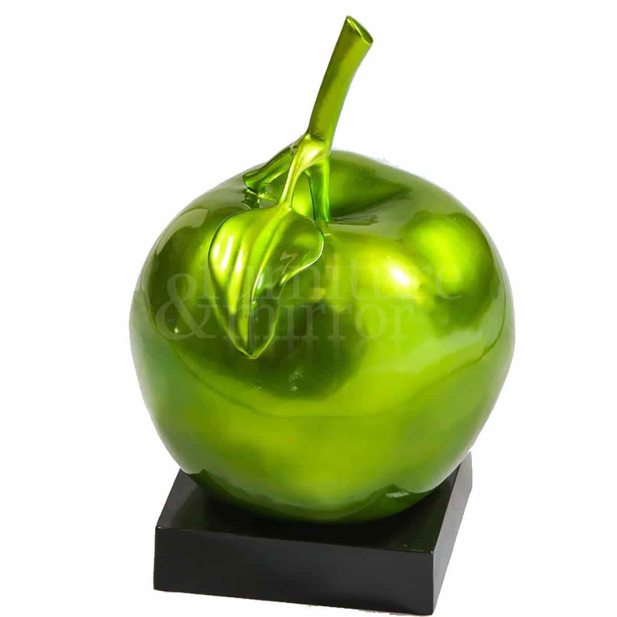 Resin fruit green apple table decor furniture and mirror for Apple fruit decoration