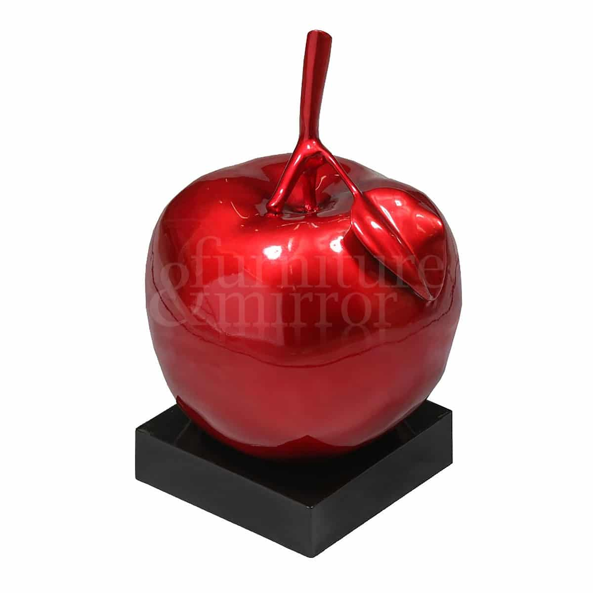 Apple decor for home resin fruit red apple table decor for Apple home decoration