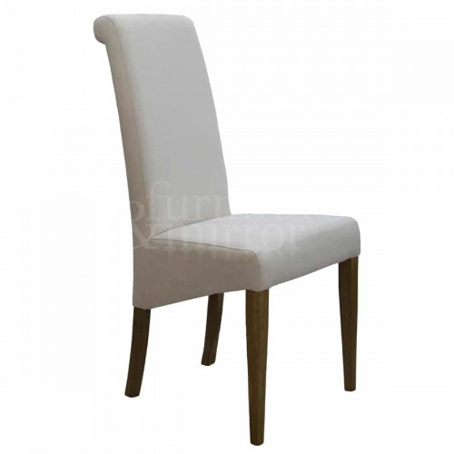 Napoli Ivory Fabric Dining Chair - NAPIV0400