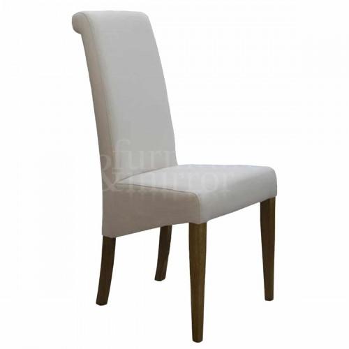 Napoli Ivory FabricDining Chair - NAPIV0400