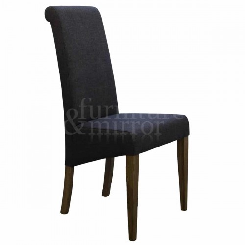 Napoli Stone Fabric Dining Chair - NAPSTONE403