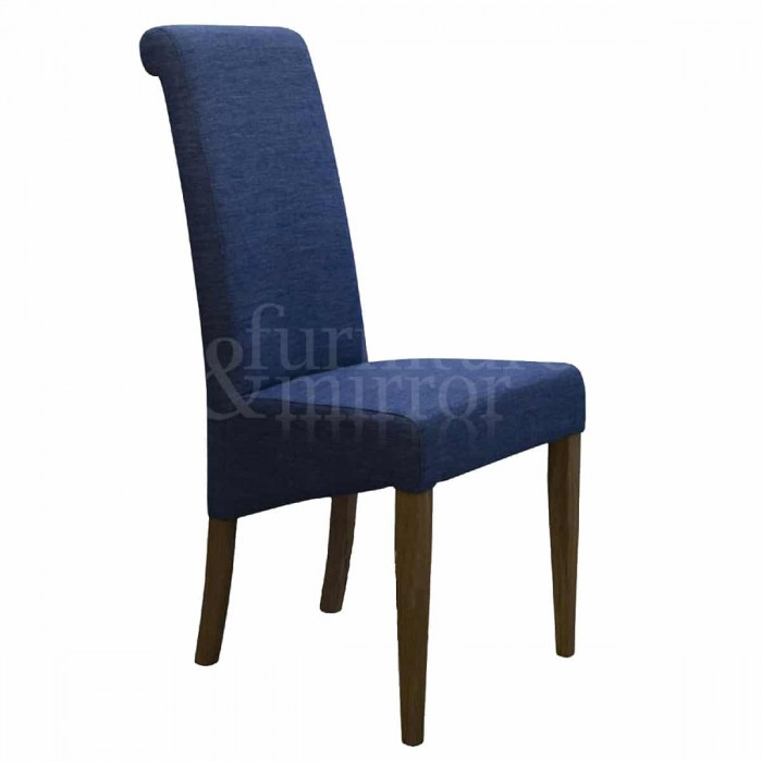 Napoli Denim Fabric Dining Chair - NAPDEN700