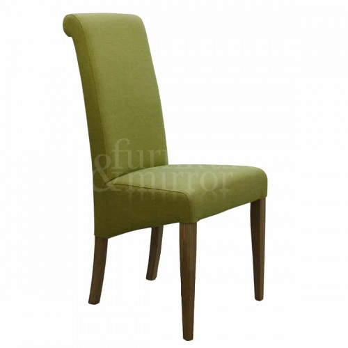 Napoli Lime Fabric Dining Chair - NAPLIME804