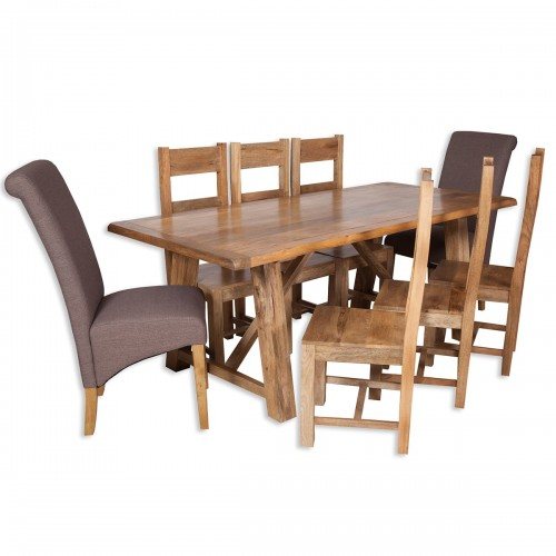 Pennines Large Dining Table - PEN001b