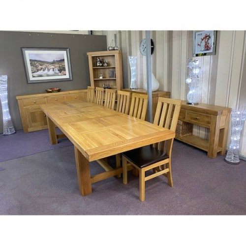 Chunky Large Extending 14 Seater Dining Table - CHU14EXT