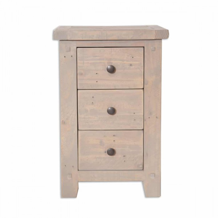 The Witterings 3 Drawer Bedside - WIT002