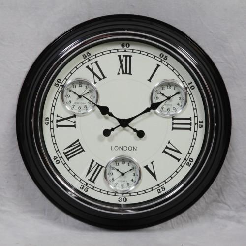 Retro Black Clock - ET62