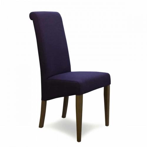 Napoli Purple FabricDining Chair - NAPPURP602