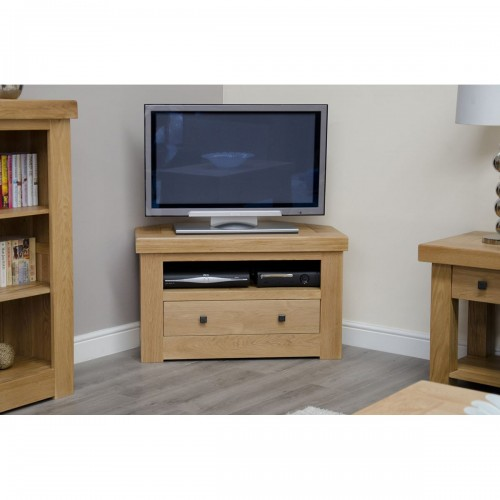 Chunky Corner TV Unit - CHUCORTV