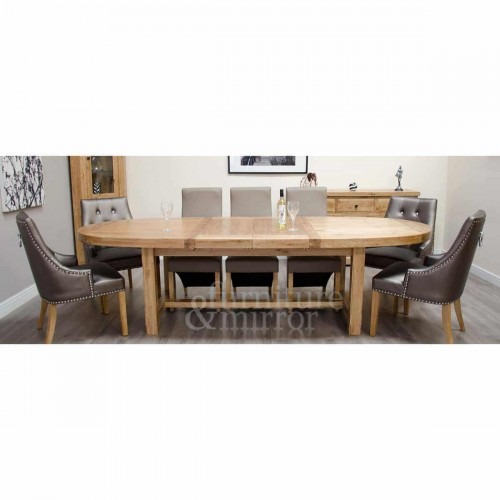 Wessex Super Oval Extending Table- WSXSUPOVAL
