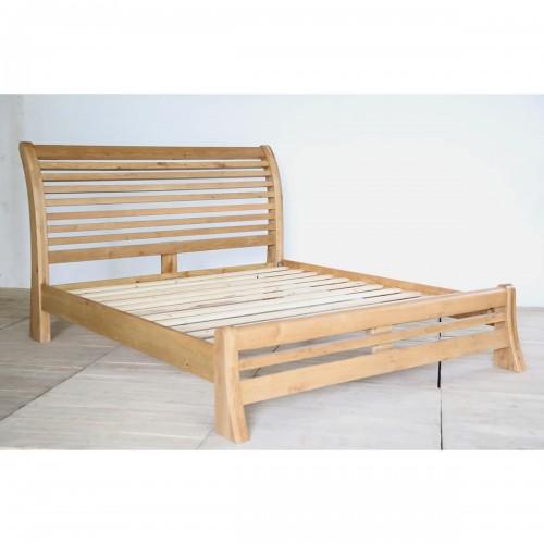 Salisbury 4'6 Slatted Bed- SAL46SLAT
