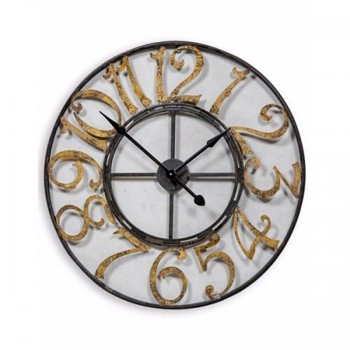 Black Skeleton Wall Clock- ET207