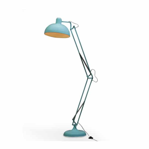 Large Blue Floor Lamp- CL79