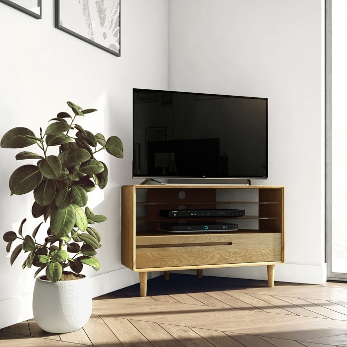 Nordic Corner Tv Unit- NORCORTV