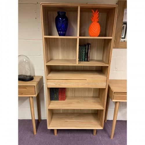 Nordic Large Bookcase-NORLBC