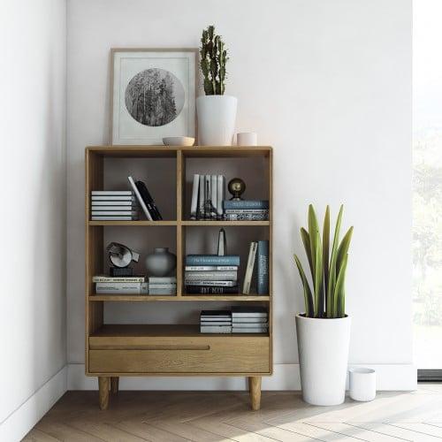 Nordic Small Bookcase-NORSBC