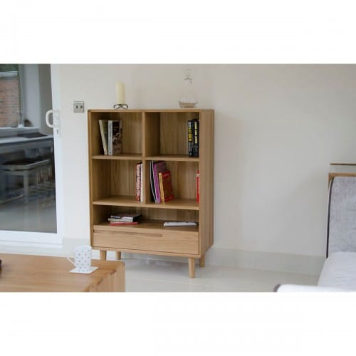 Nordic Small Bookcase- NORSBC