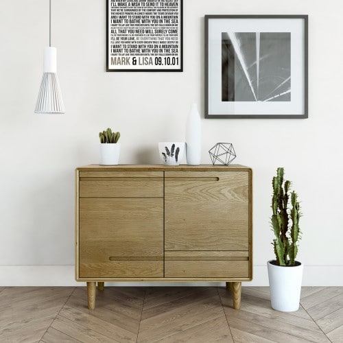 Nordic Small Sideboard-NORSSB