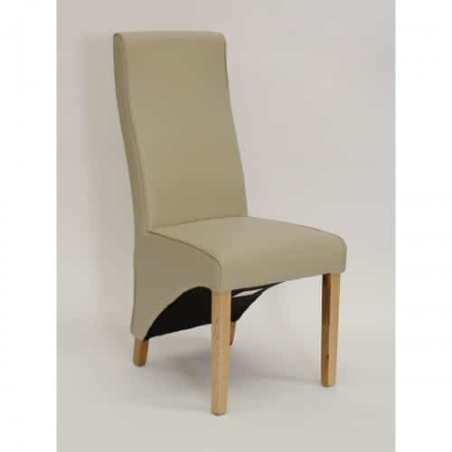 Piper Bone Curved Dining Chair - PIPBONECUR