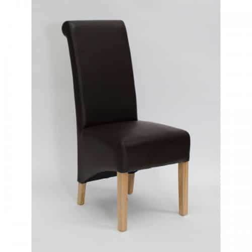 Piper Coco Rollback Dining Chair - PIPCOCOROL