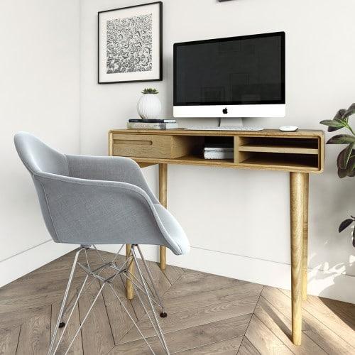 Nordic Small Computer Desk-NORCDS