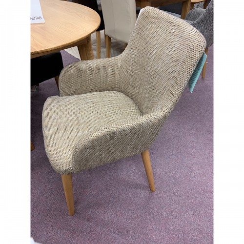 Oatmeal Tweed Dining Chair - OATTWEED