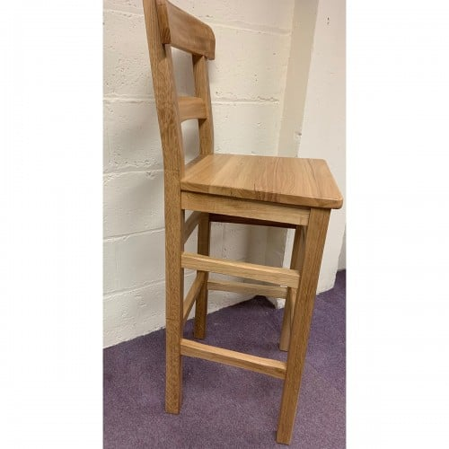 Parlour Solid Oak Bar Stool - Parlour