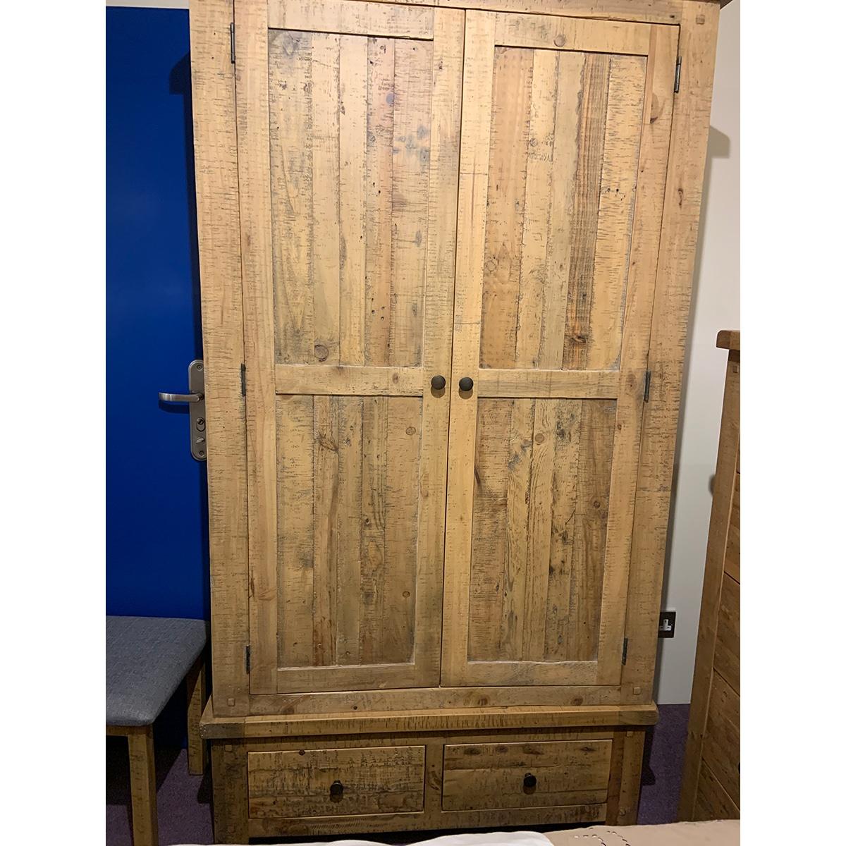 The Witterings 2 Door Wardrobe - WIT007N