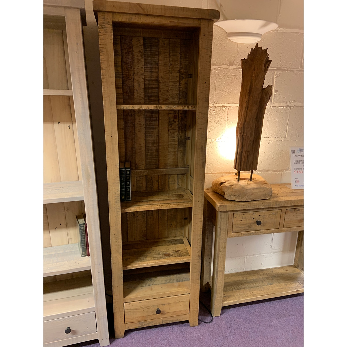 The Witterings Slim Bookcase - WIT2722N