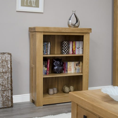 Chunky Small Bookcase With Drawers - CHUSBC