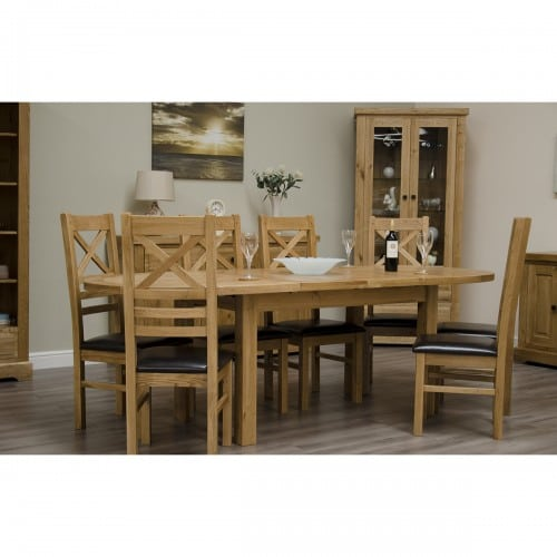 Wessex Oval Extending Table - WSXOVAL