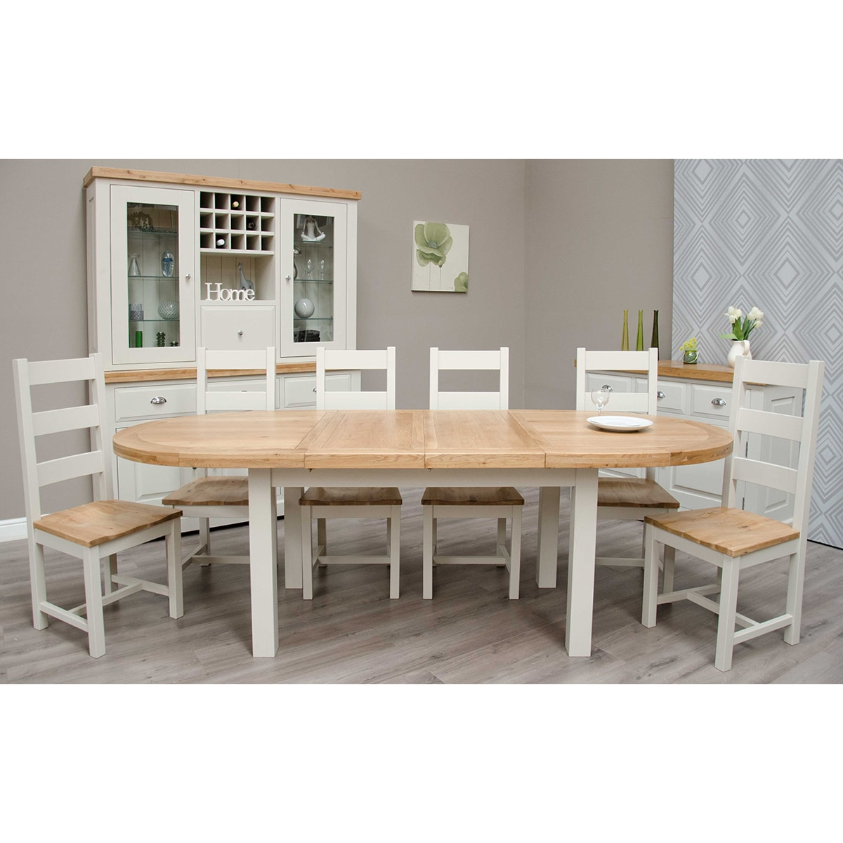 Wessex Oval Extending Table - WSXPOVAL