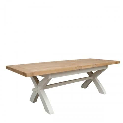 Wessex Painted XLeg Extending Table - WSXPXLEG