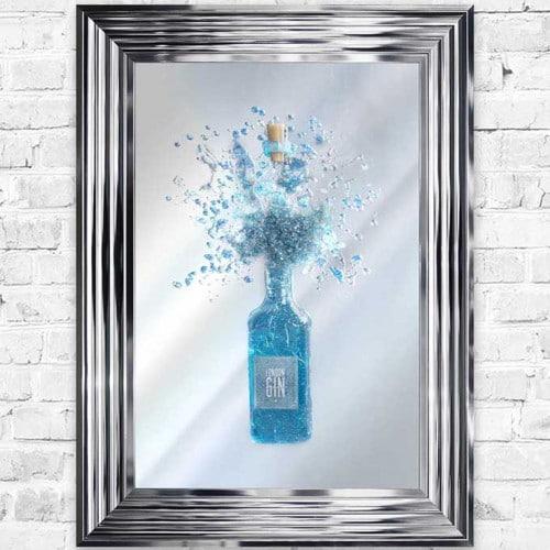 Gin Light Up Mirror/Wall Art - GINMIR