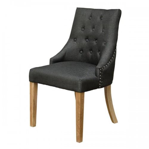 Willow Charcoal Dining Chair - WILLOWCHAR