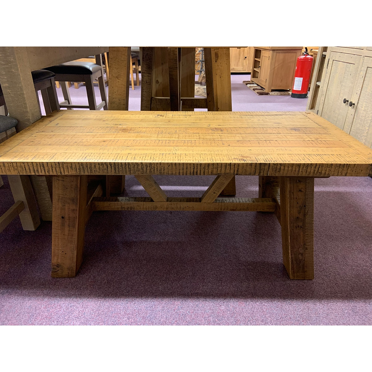 The Witterings Trestle Coffee Table- WIT2732N
