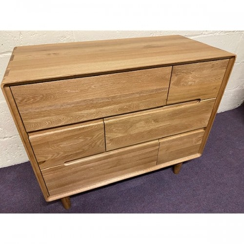 Nordic 3 Over 3 Drawer Chest- NOR33CH