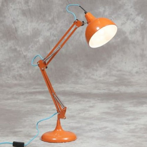 Orange Desk Lamp- CL98