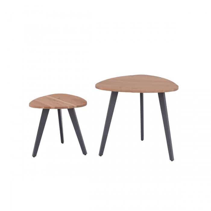 Bellary District Nest Of 2 Tables- BD011