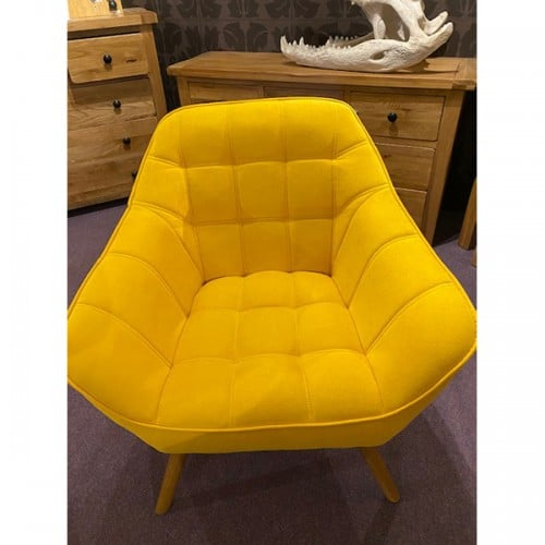Bailey Mustard Accent Chair- BAIMUST