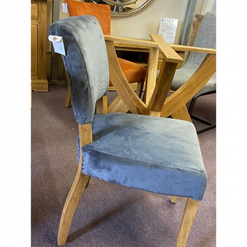Capone Grey Fabric Dining Chair - CAPGRY