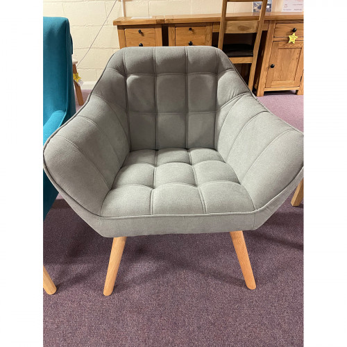 Bailey Grey Accent Chair